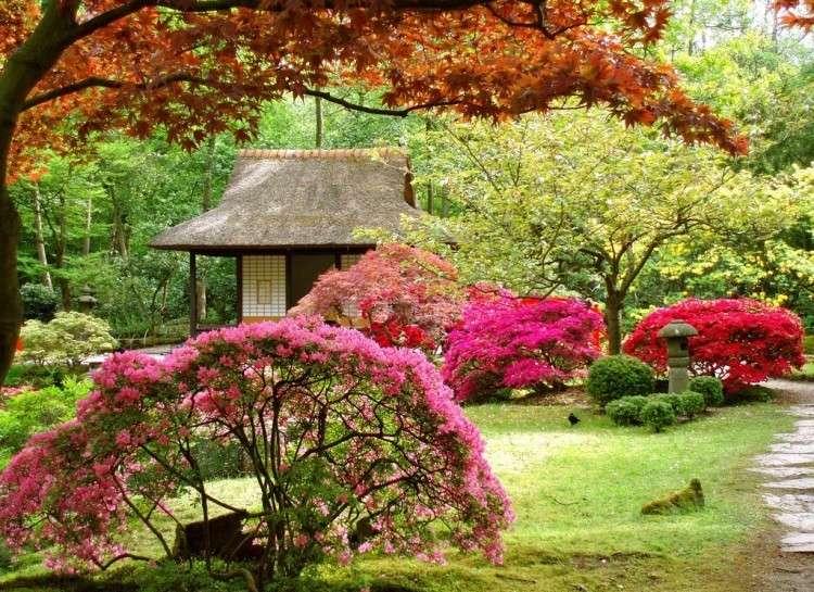 Se détendre grâce à un jardin japonais